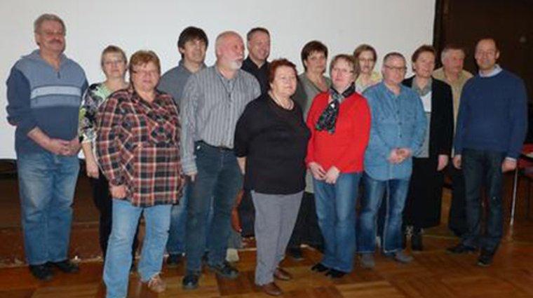 Vorstand des OV Lutherstadt Wittenberg