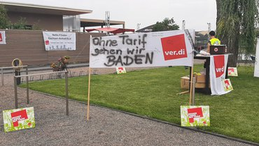Bilder vom Streik